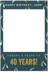 cheers and drinks selfie frame