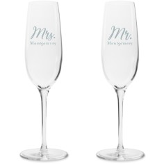 Celebrate With Personalized Champagne Flutes Shutterfly