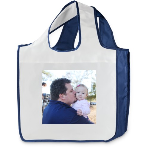 True Blue Reusable Shopping Bag