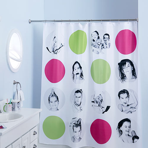 Upload Your Own Design Custom Shower Curtains