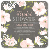beautiful bouquet 5x5 stationery bridal shower invitations shutterfly - Wedding Shower Invites