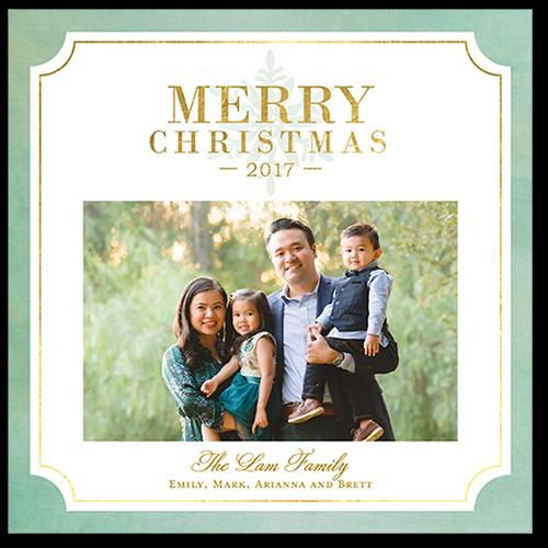 Festive Blessings Christmas Card