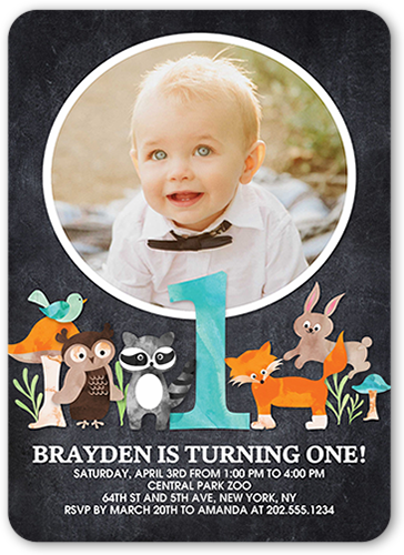 1 year birthday invitations 1 year old birthday invites shutterfly