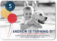 Birthday Invitation From 127 Glimmering Party Boy