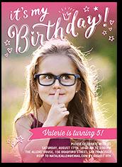 Jubilant Princess Birthday Invitation