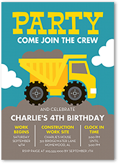 Join The Crew Birthday Invitation