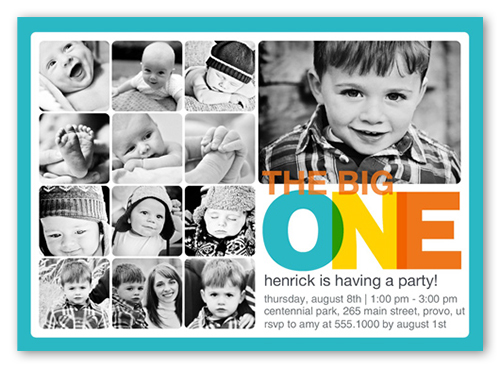every amazing month boy first birthday invitation shutterfly