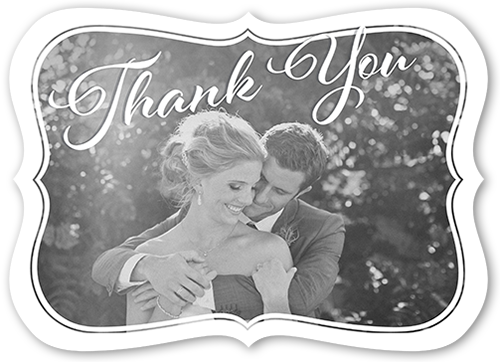 Beautifully Framed Thank You Card
