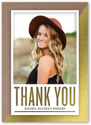 Splendid Thank You Thank You Card