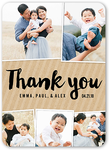 All Of Our Thanks Thank You Card