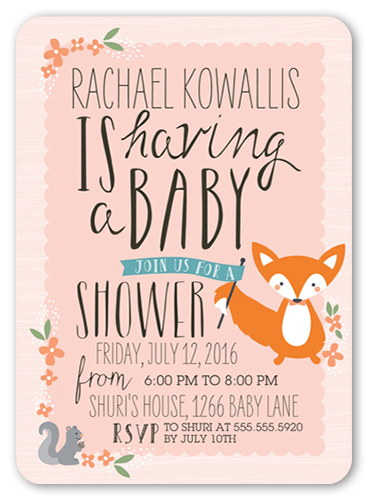 Stacy Claire Boyd Baby Shower Invitations Custom Baby Shower