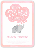Baby shower invitations for girls shutterfly filmwisefo