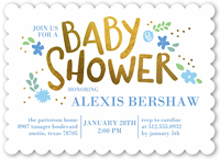 Boy Neutral Baby Shower Invitations Custom Baby Shower Invites