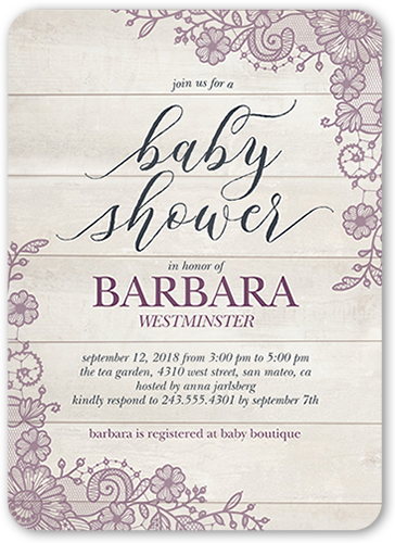 Floral mother 5x7 baby shower invitations shutterfly baby shower invitation visible part transiotion part front filmwisefo