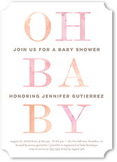hello baby baby shower invitation