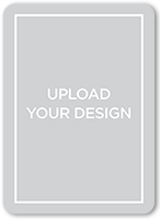 upload your own design moving announcement 5x7 flat