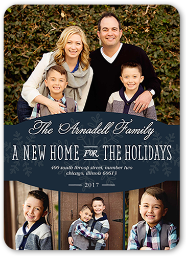 New Home Banner Moving Announcement, Rounded Corners