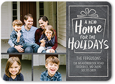 new holiday home moving announcement 5x7 flat