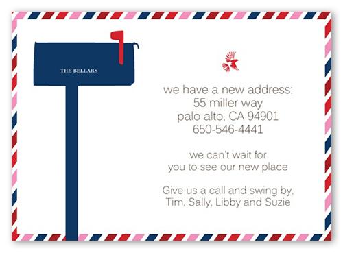 par avion 5x7 moving announcement cards shutterfly