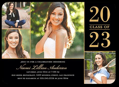 Proud Moment 5x7 Graduation Party Invitation