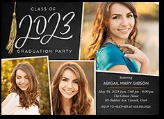extraordinary tassel graduation invitation 5x7 flat
