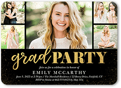 Graduation party invitations shutterfly can be customized filmwisefo