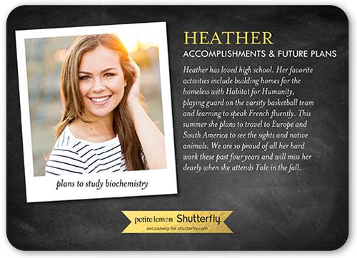 notable achievement graduation announcement - Graduation Announcement Cards