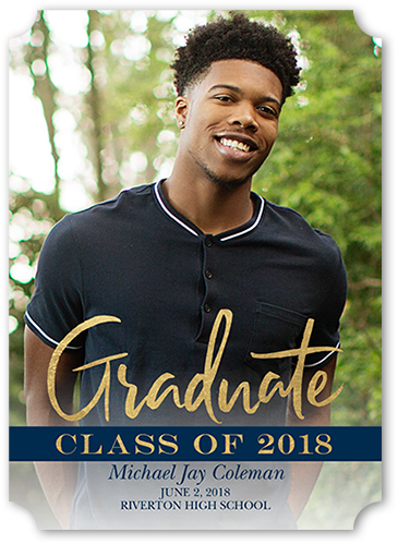 Banner Alumni Graduation Announcement