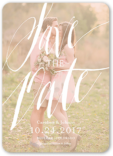 photo of Fairy Tale Script Save The Date