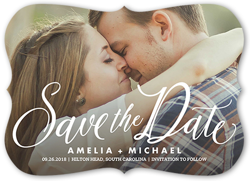 photo of Special Script Save The Date