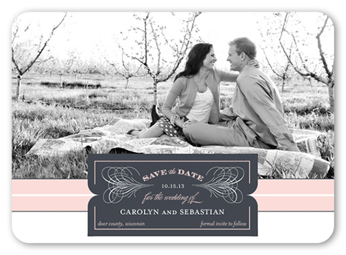 Vintage Style Save The Date