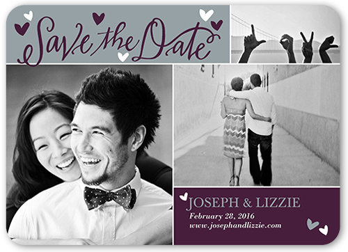 Photo Paper Save the Date Cards – Save the Date Graduation Invitations