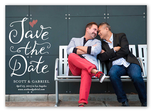 Two Hearts Save The Date