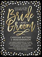 sweetest couple bridal shower invitation 5x7 flat