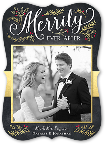 Merrily Ever After Holiday Card