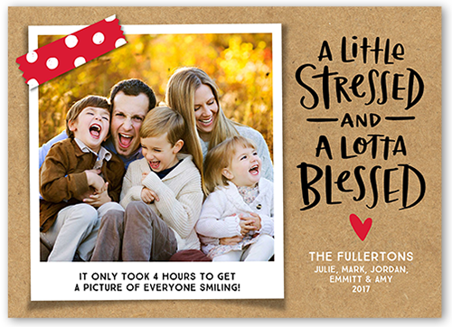 Blessed Greeting Holiday Card