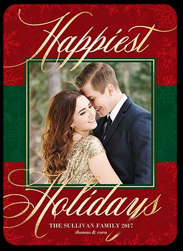 Flurry Family Overlay Holiday Card