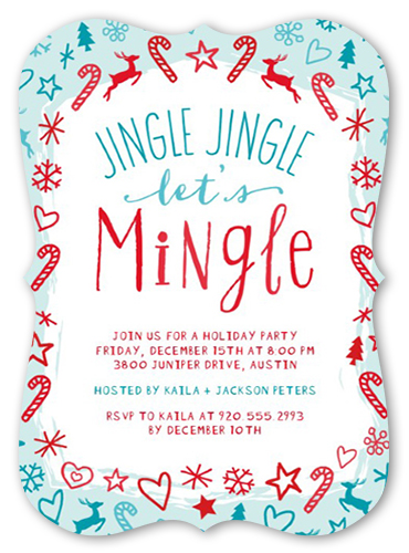 Jingle Jingle Mingle Holiday Invitation