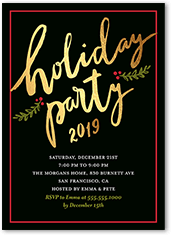 holiday invitations  holiday party invitations  shutterfly, Party invitations