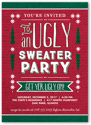 Ugly Holiday Sweater Party 36