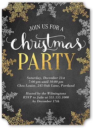 Fanciful Season Holiday Invitation