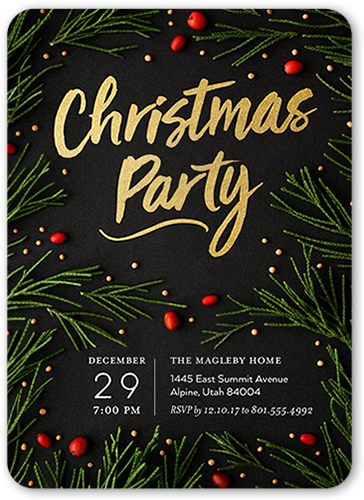 ornament exchange party invitations shutterfly