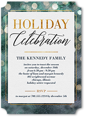 Holiday invitations holiday party invitations shutterfly stopboris Image collections