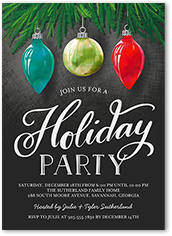 Holiday Invitations Holiday Party Invitations Shutterfly