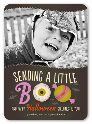 A Little Boo Halloween Card