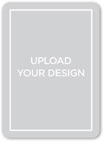 upload your own design wedding card 5x7 flat