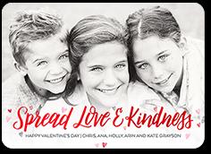 love and kindness valentines card 5x7 flat