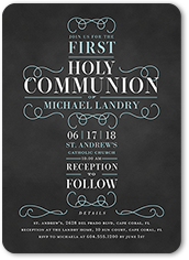 First Communion Invitations First Holy Communion Invites Shutterfly