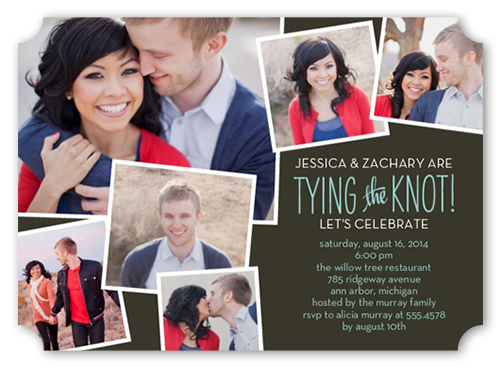 memphis wedding engagement party invitations