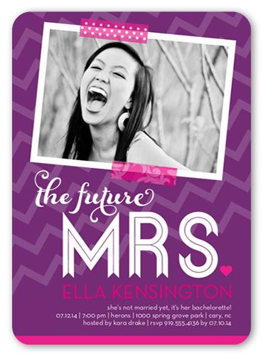 Future Mrs Bachelorette Party Invitation